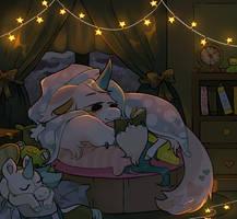 Comfy Bedtime Story by Simobeano