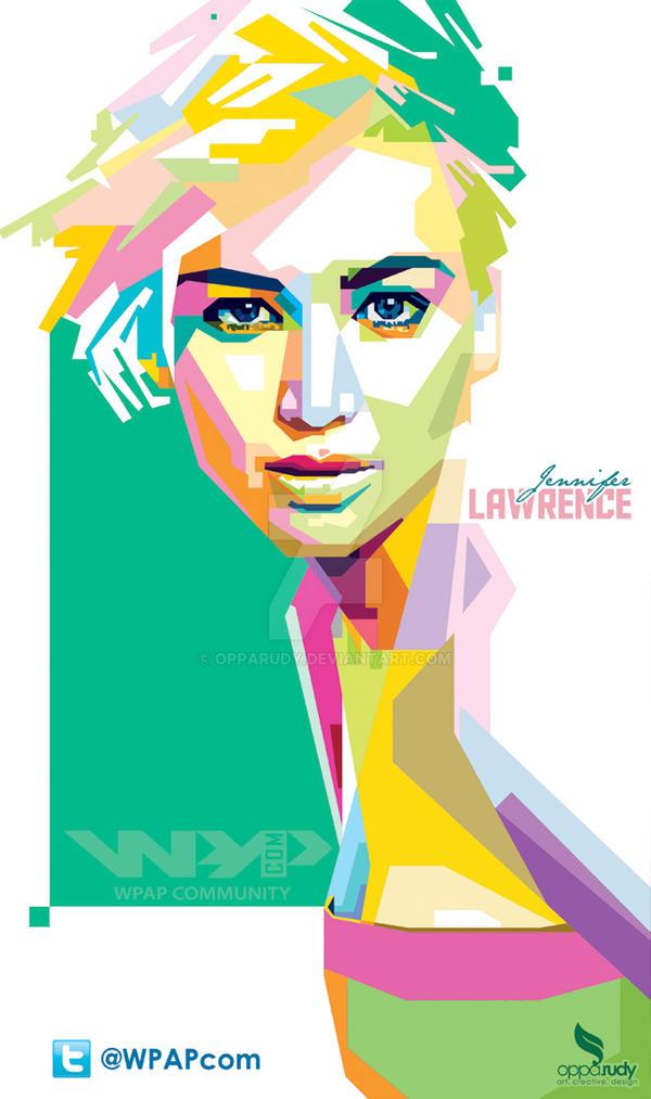 Jennifer Lawrence wpap by opparudy