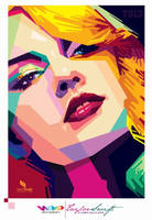 Taylor Swift Wpap 2 colour by opparudy