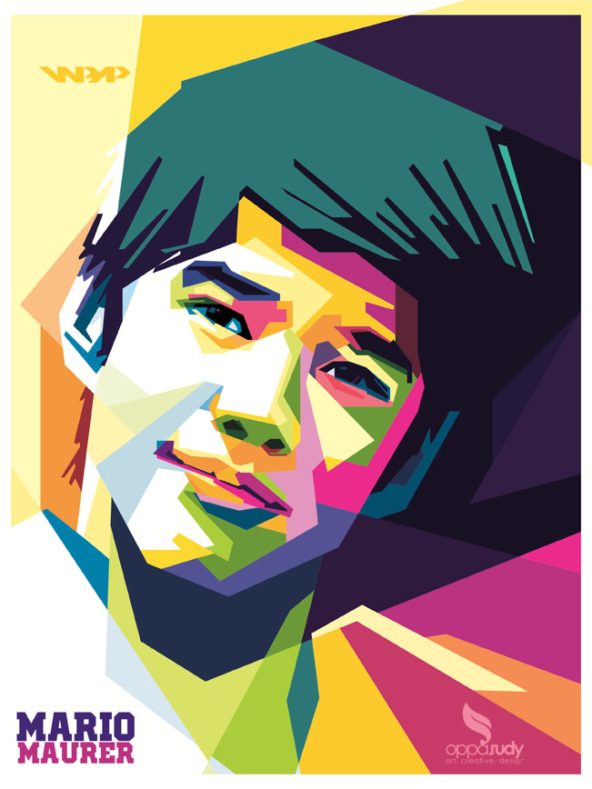 mario maurer WPAP by opparudy