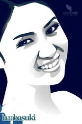 Laura Basuki Vector by opparudy
