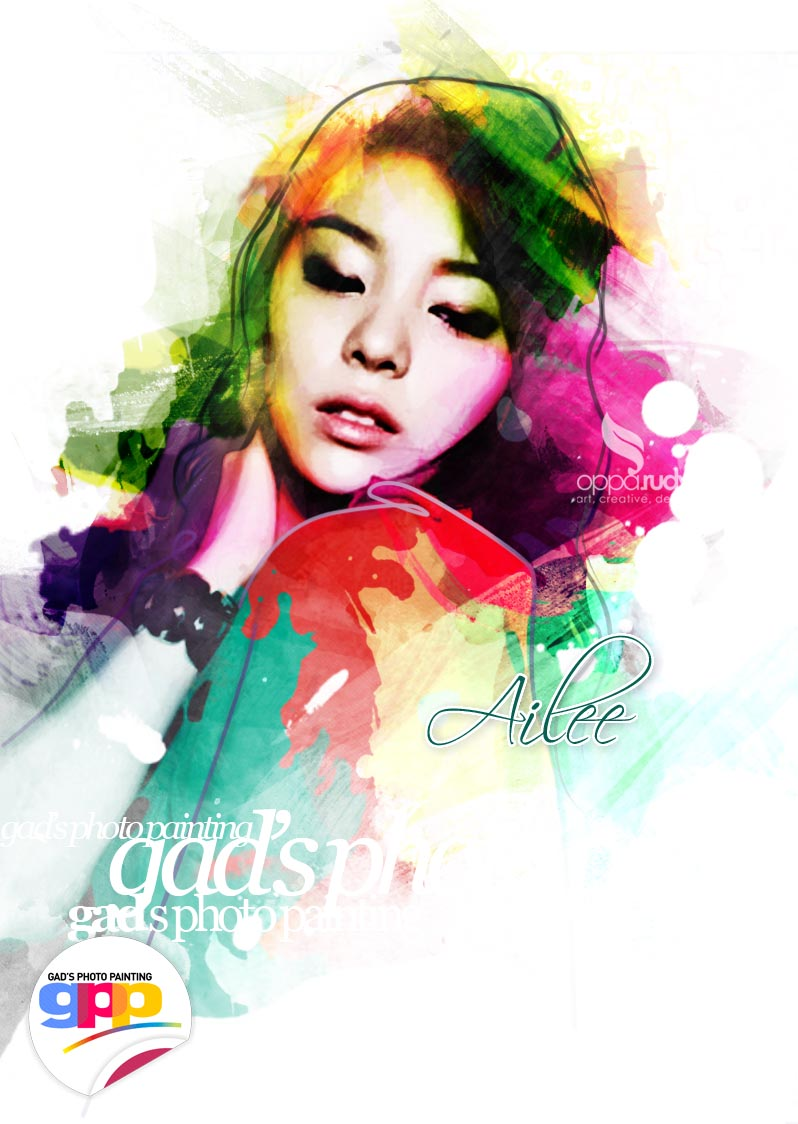 Ailee GPP (gad's photo painting) by opparudy