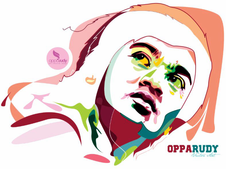 my face Vector Art by opparudy