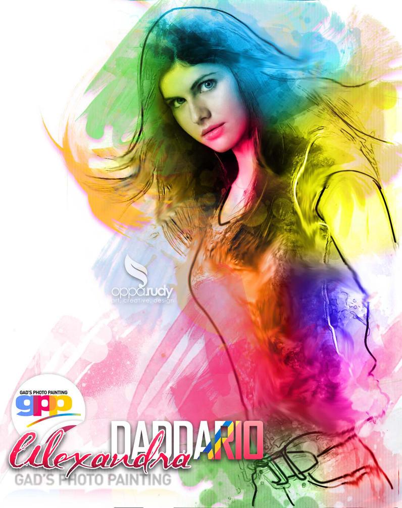 Alexandra Daddario by opparudy