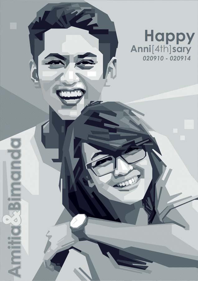 AMITIA dan BIMA by opparudy
