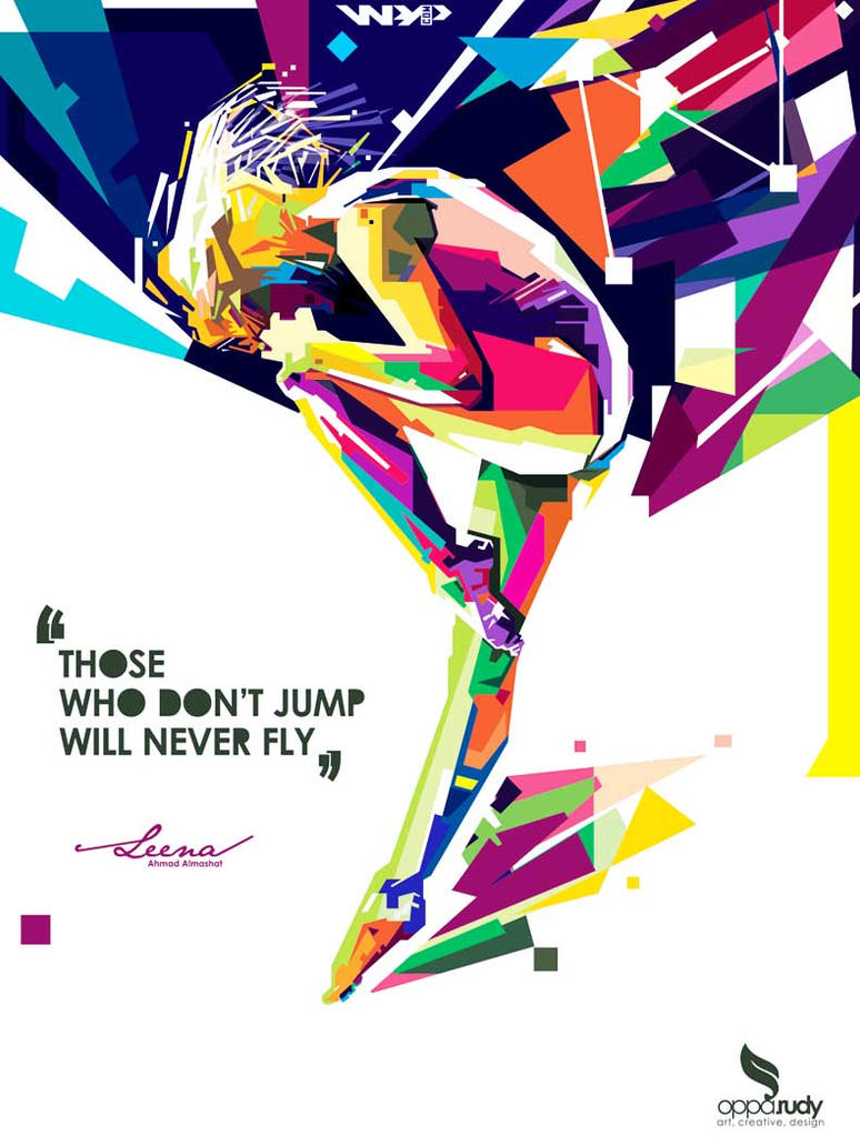 those who don't Jump will never fly by opparudy