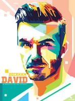 David Beckham Wpap by opparudy