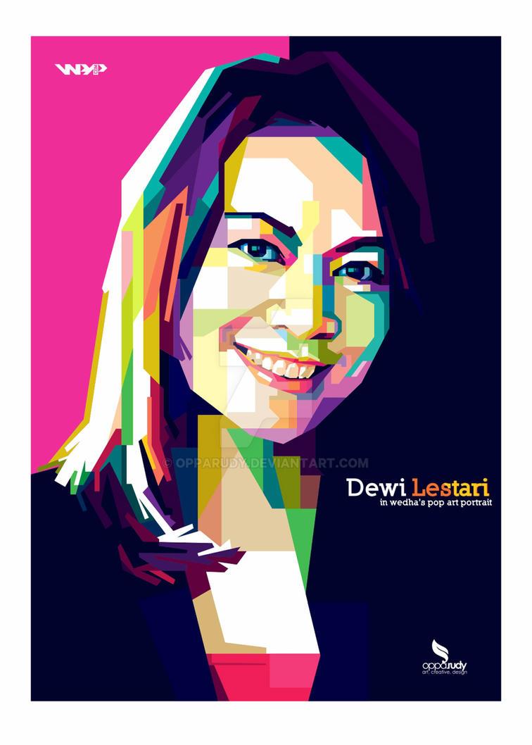 Dewi Lestari WPAP by opparudy