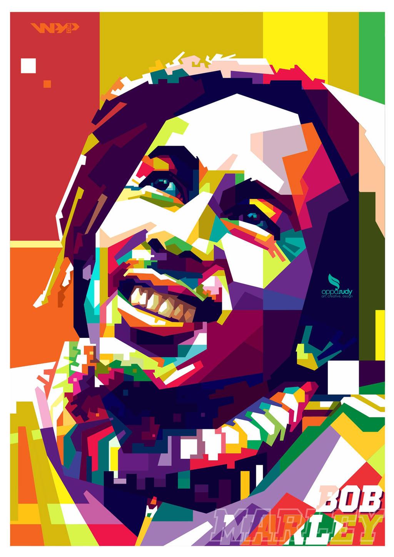 WPAP Bob Marley by opparudy