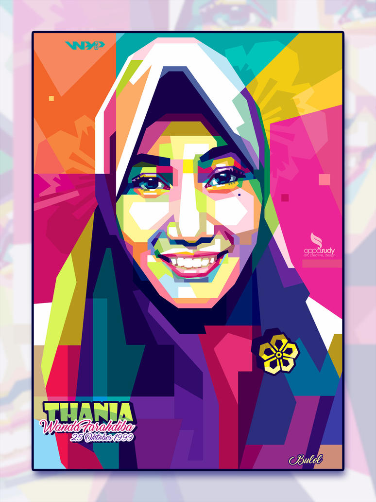 WPAP Hijab by opparudy