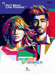 Zayn Malik  Taylor Swift (WPAP) by opparudy