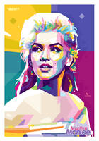 Marilyn Monroe WPAP by opparudy