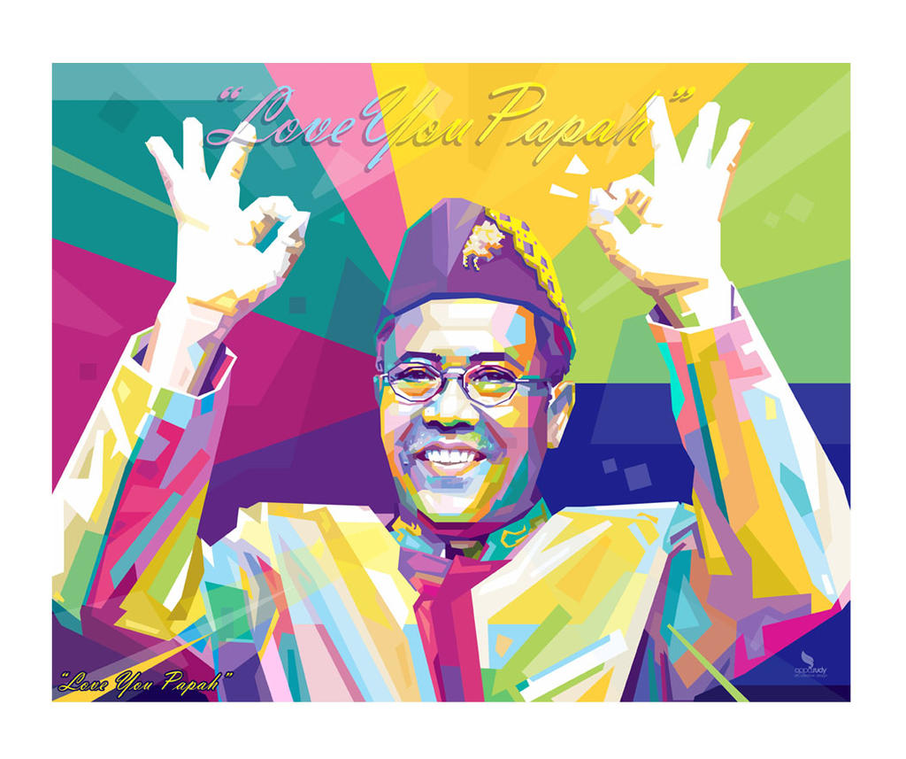Beloved Father in WPAP by opparudy