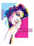 Connie Francis - WPAP ART by @opparudy