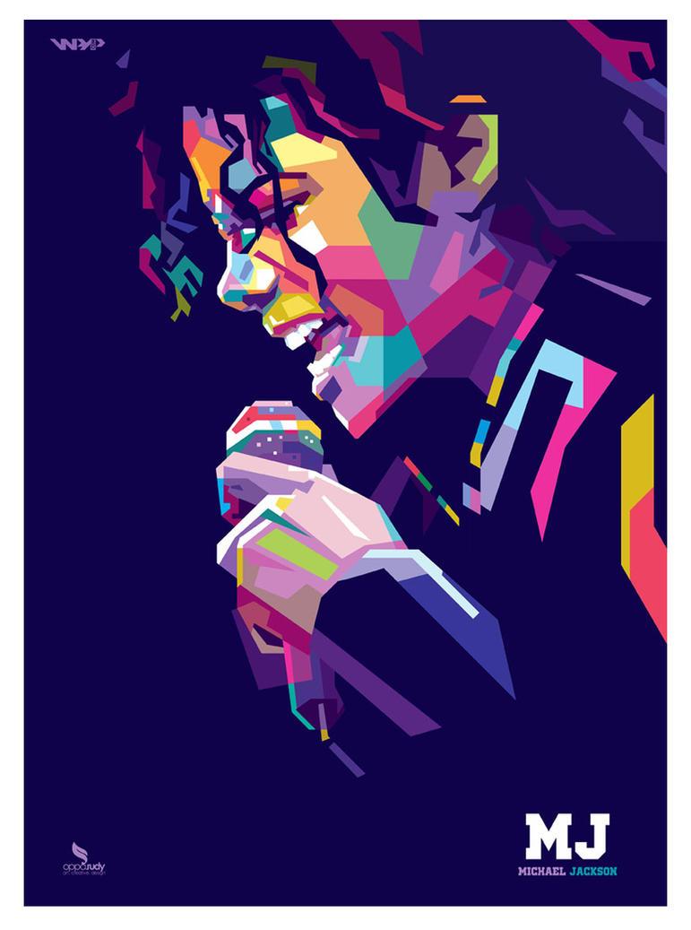 Michael Jackson - Pop Art by opparudy