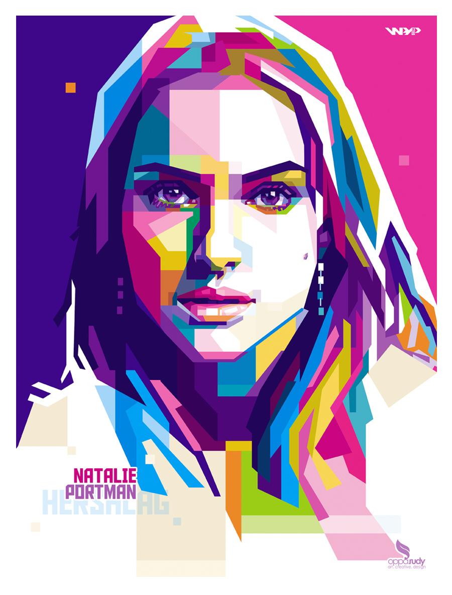 Natalie Portman WPAP by opparudy