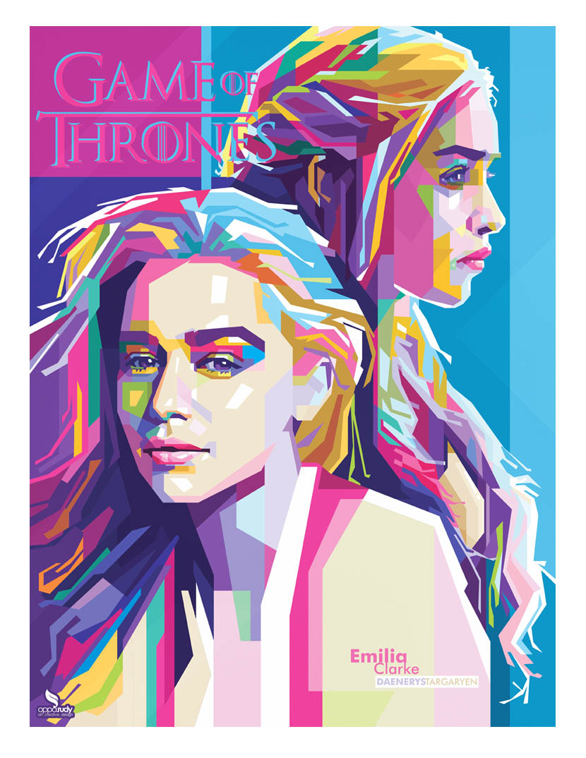 Emilia Clarke (mother of dragon) - WPAP by opparudy