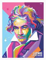 Ludwig Van Beethoven WPAP by opparudy