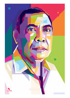 A man in WPAP by opparudy