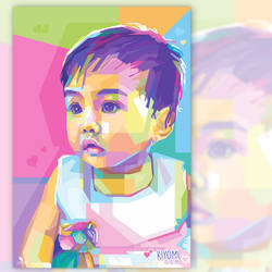 Cute Kid on WPAP by opparudy