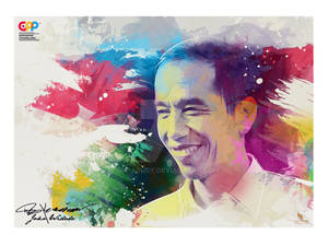 JOKO WIDODO (jokowi)  - GAD'S PHOTO PAINTING