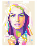 Anne Hathaway - WPAP by opparudy
