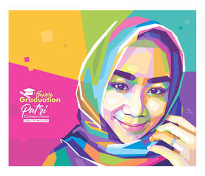 GIRL HIJAB - WPAP by opparudy