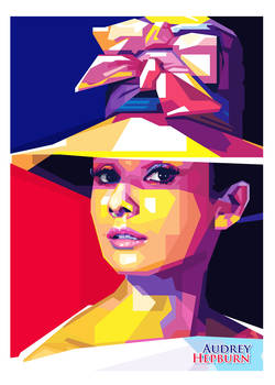 Audrey Hepburn - POP ART