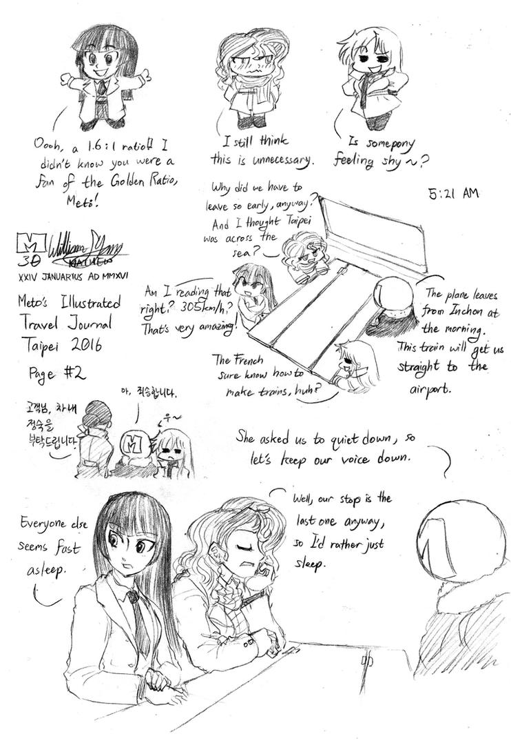 Taipei Illustrated Travel Journal 002 by meto30