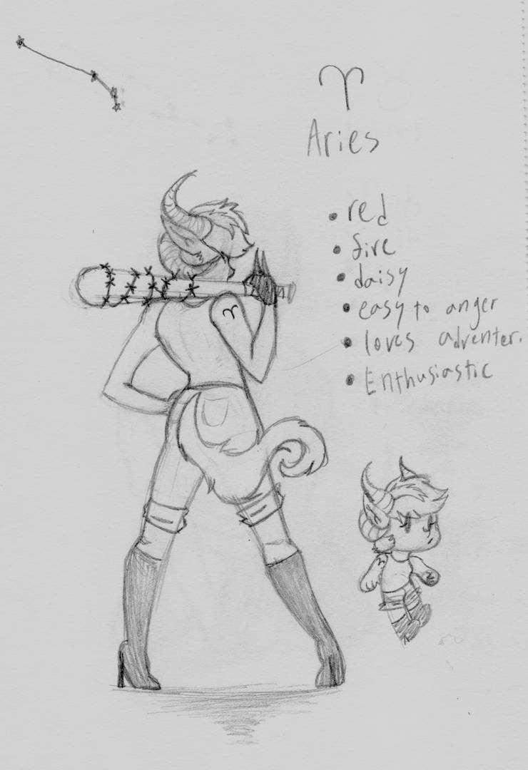 Aries by MadamationsART