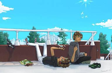 Ryo, Look! by Tundris