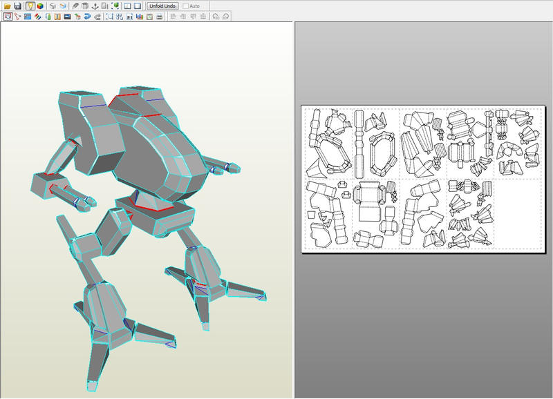 MWO: Forums - Mechwarrior 2 Ati 3D Rage Edition Paper Models