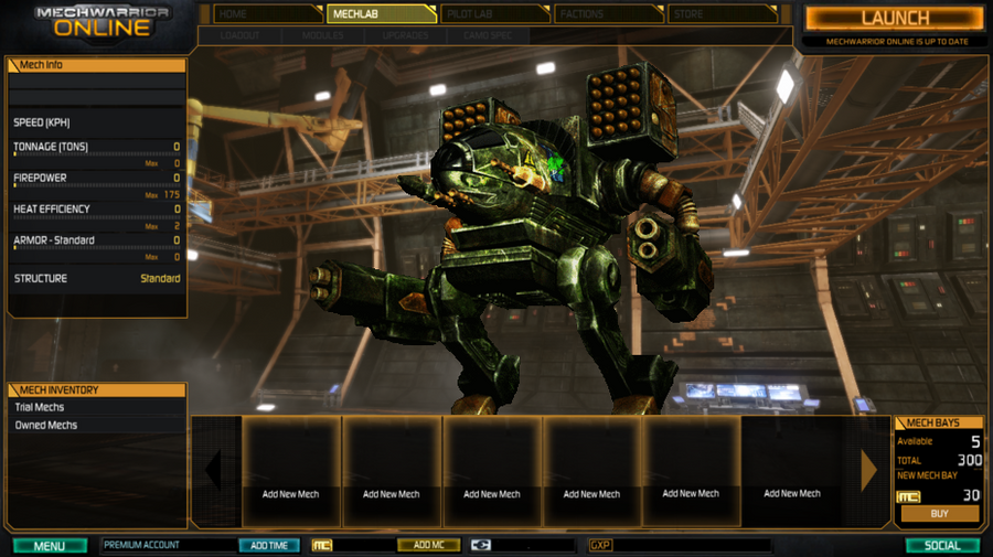 MWO: Forums - If That Warhammer Ever Made It Into My Mech Bay