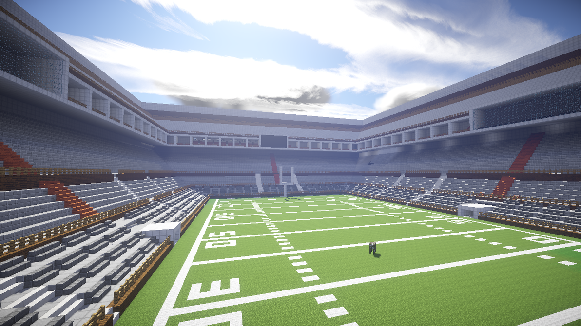 Football Stadium Football Stadium In Minecraft