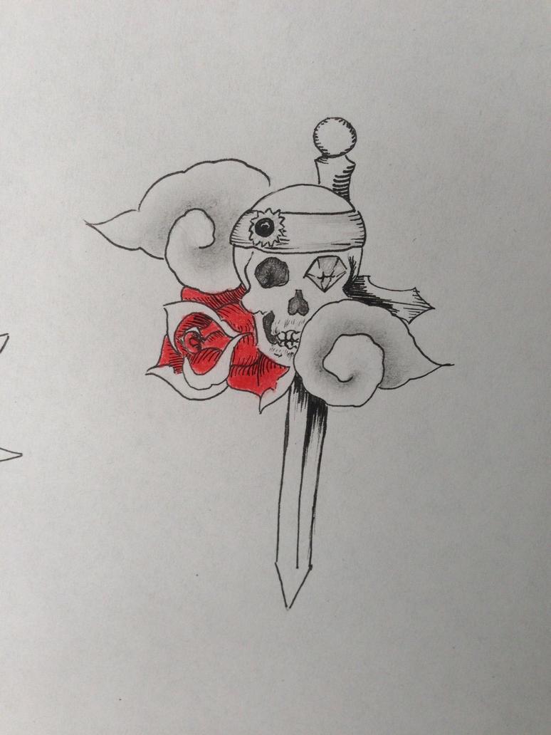 simple skull tattoo - HD774×1032