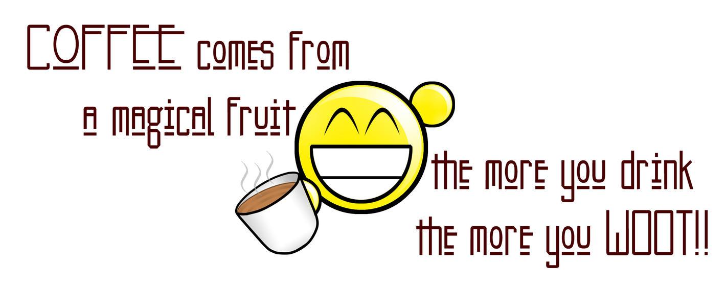 Mug : Coffee w00t by deejaylobo