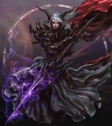 #Devil Lancer by peterskore
