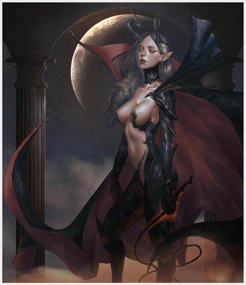 #Dark Queen by peterskore