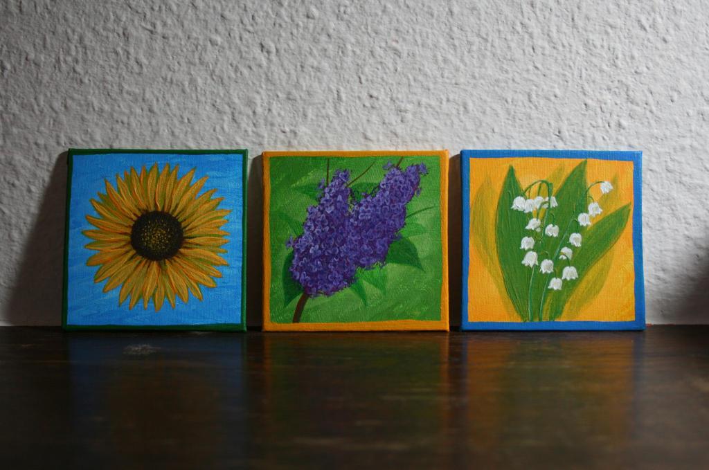 Blumen Trio by catferret