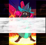 ok who made this ralsei? amplified image by dorboy8907