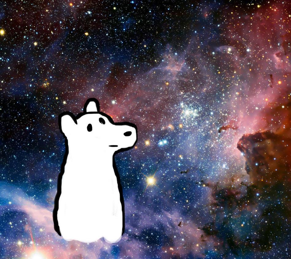 IceBear in space by Revenir-Ghoul