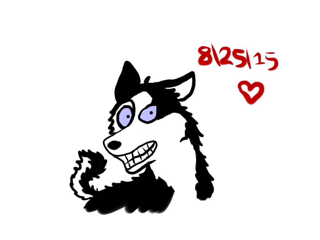 Smile Dog by Revenir-Ghoul