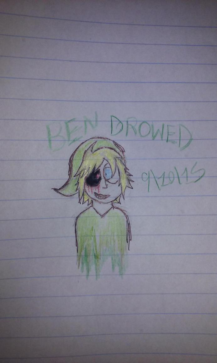 Ben Drowned by Revenir-Ghoul