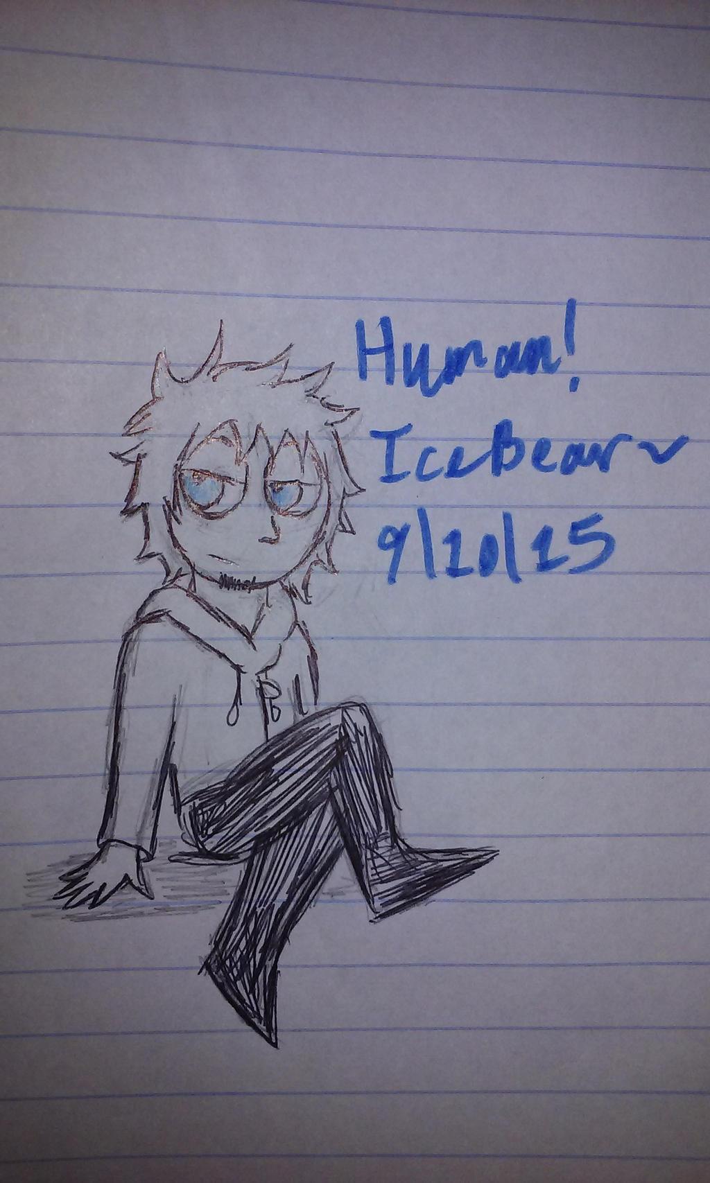 Human! Icebear by Revenir-Ghoul