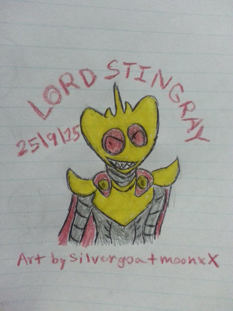 Lord Stingray by Revenir-Ghoul