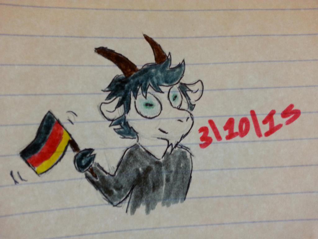 German Unity Day by Revenir-Ghoul