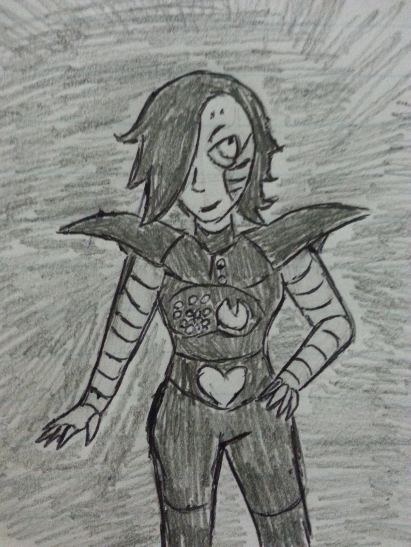 Mettaton aka Sassy Bot by Revenir-Ghoul