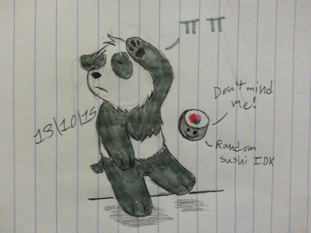 Dramatic Panda Is Dramatic by Revenir-Ghoul
