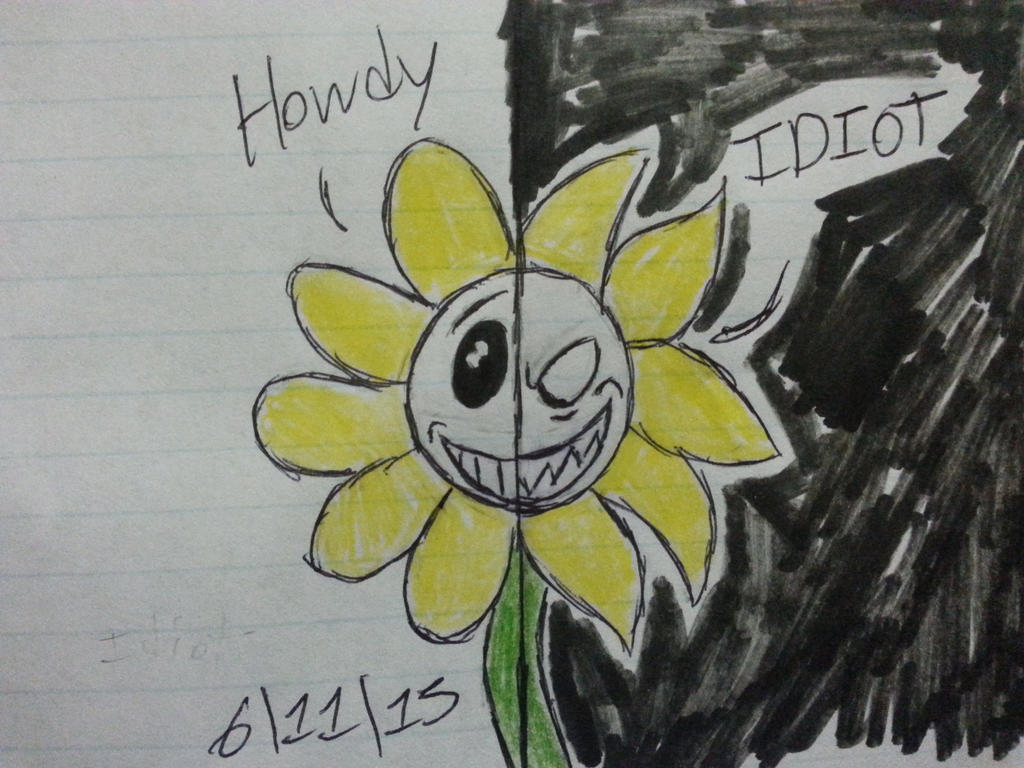 (Can't Stop This Madness) Flowey by Revenir-Ghoul