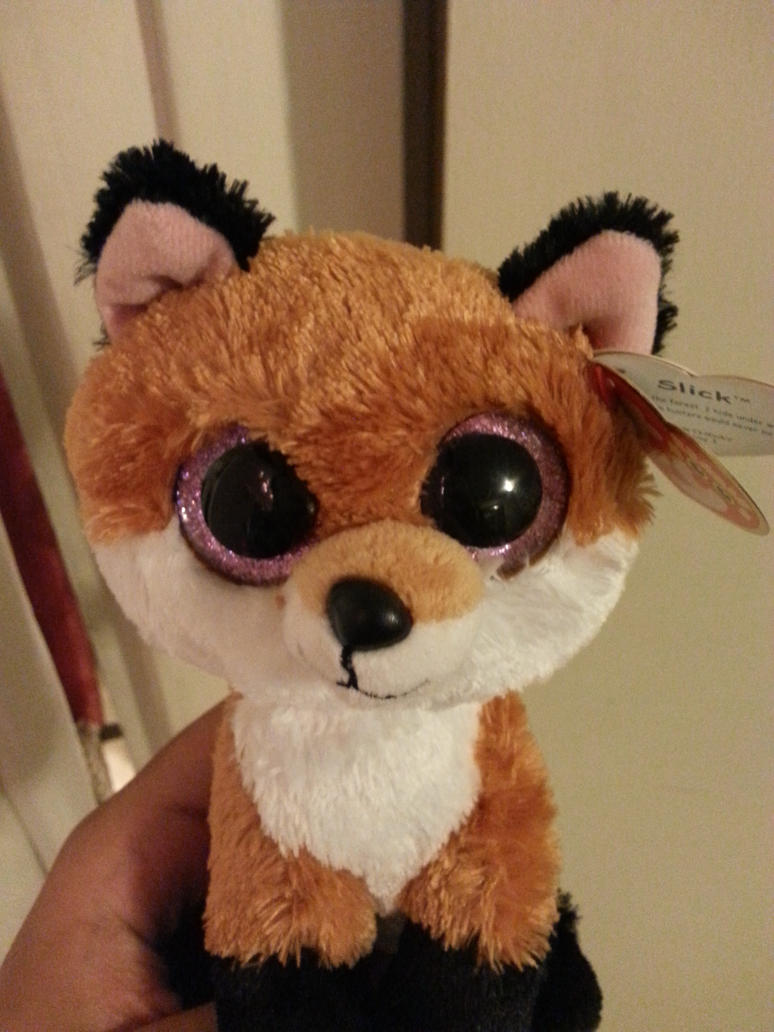 My Fox Plushie by Revenir-Ghoul